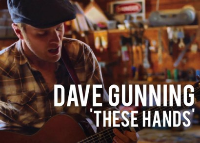 Dave Gunning These Hands music video edited by Jake Harris, directed by Scott Simpson