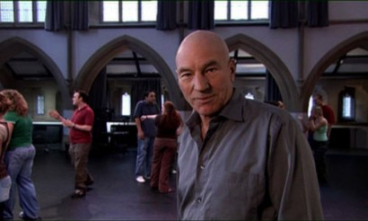 Commercial for Huddersfield University with Patrick Stewart